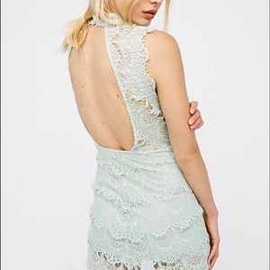 Intimately Free People DAYDREAMER Dress In Mint
